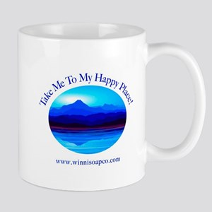 Take Me To My Happy Place! Mug Mugs