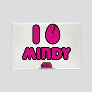I Egg Mindy Pink Rectangle Magnet
