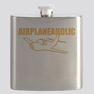 Funny Airplane Flask