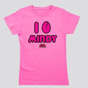 I Egg Mindy Pink Girl's Tee