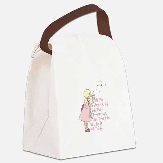 Seeds of Today Canvas Lunch Bag