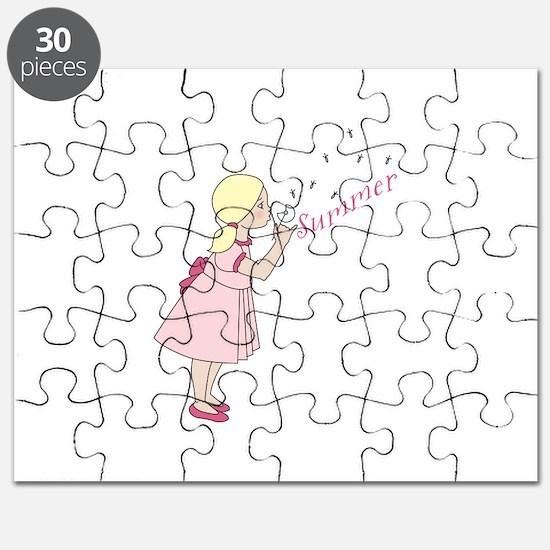 Summer Dandelion Puzzle
