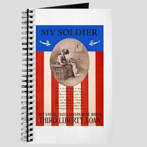 War Bonds WWI My Soldier Liberty Loan Prop Journal
