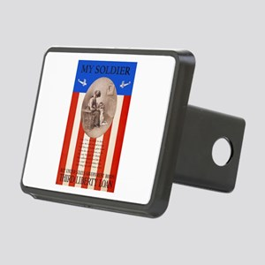 War Bonds WWI My Soldier L Rectangular Hitch Cover