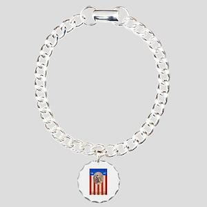 War Bonds WWI My Soldier Charm Bracelet, One Charm