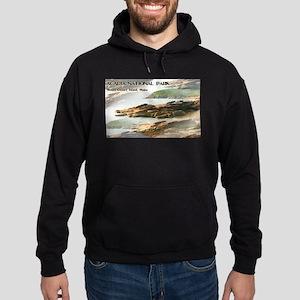 Acadia National Park Coastline Hoodie (dark)