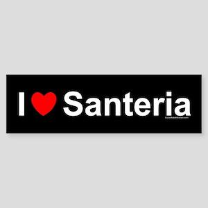 Santeria Sticker (Bumper)