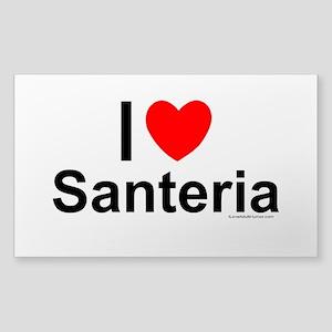 Santeria Sticker (Rectangle)