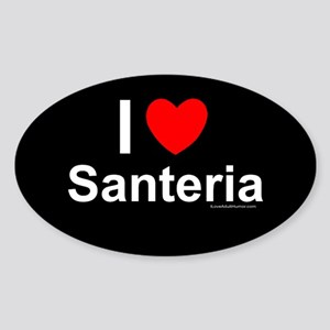 Santeria Sticker (Oval)