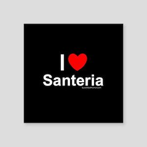 """Santeria Square Sticker 3"""" x 3"""""""