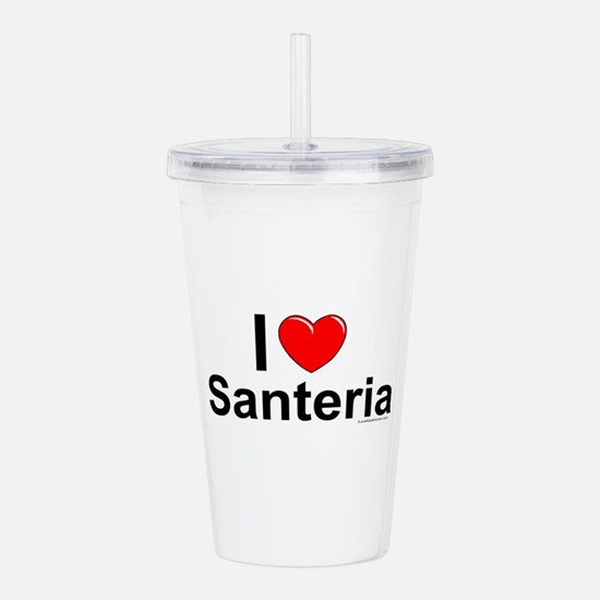 Santeria Acrylic Double-wall Tumbler