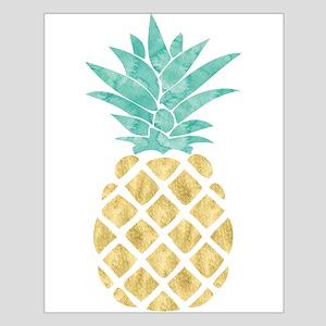 Golden Pineapple Posters