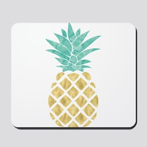 Golden Pineapple Mousepad