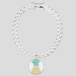 Golden Pineapple Bracelet