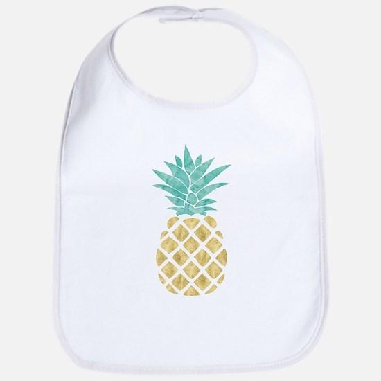 Golden Pineapple Bib