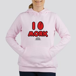 I Love Mork Women's Hooded Sweatshirt