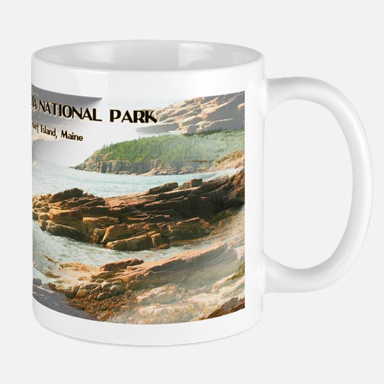 Acadia National Park Coastline Mugs