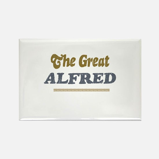 Alfred Rectangle Magnet