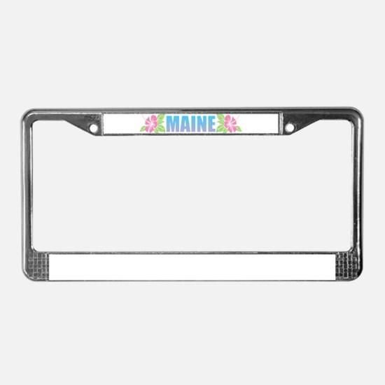 Funny Atlantic ocean License Plate Frame