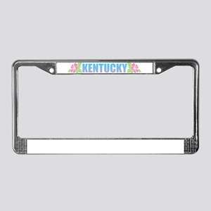 Kentucky Design License Plate Frame