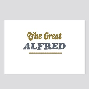 Alfred Postcards (Package of 8)