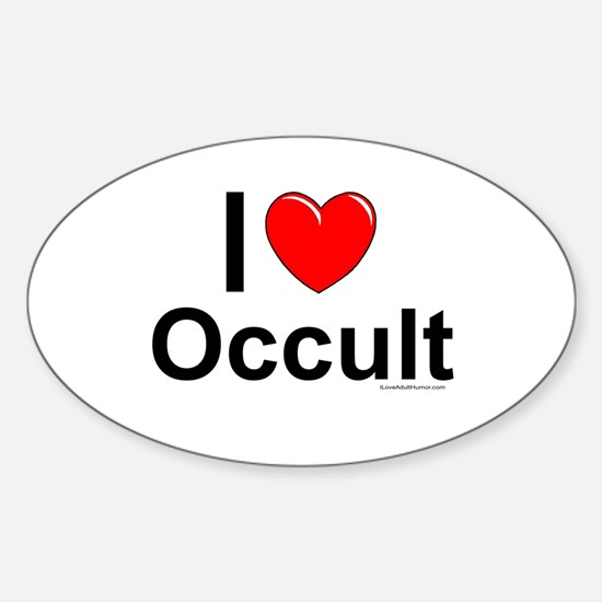 Occult Sticker (Oval)