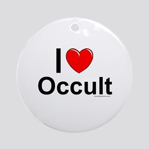 Occult Round Ornament