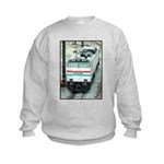 Amtrak E-60 # 610 Kids Sweatshirt