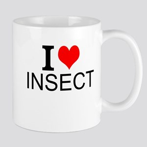 I Love Insects Mugs