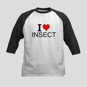I Love Insects Baseball Jersey