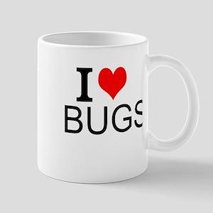 I Love Bugs Mugs