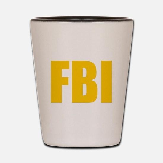 FBI Shot Glass