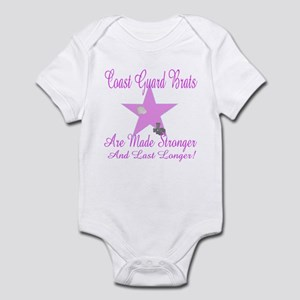 coast guard brat are made str Infant Bodysuit