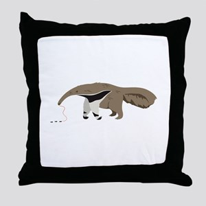 Anteater Ants Throw Pillow
