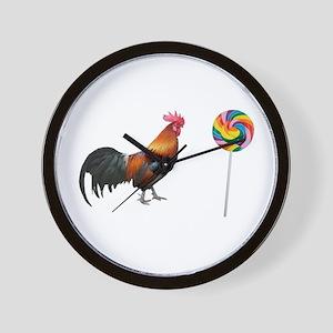 Cock Sucker Wall Clock