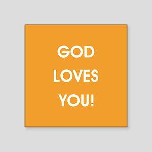 GOD LOVES YOU Sticker