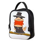 ongher in his top Neoprene Lunch Bag