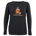 ongher in his top Plus Size Long Sleeve Tee