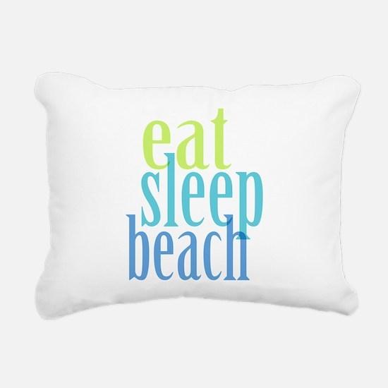Beach Rectangular Canvas Pillow