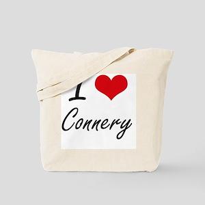 I Love Connery artistic design Tote Bag