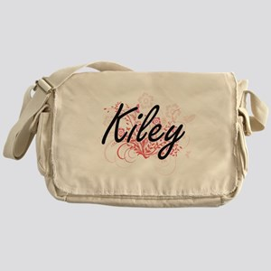 Kiley Artistic Name Design with Flow Messenger Bag