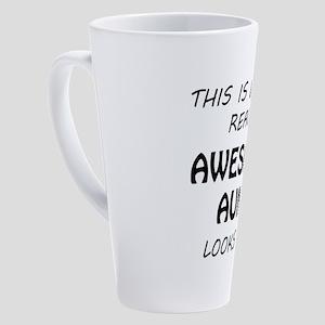 Awesome Aunt 17 oz Latte Mug