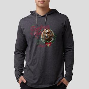 Christmas Goat | Christmas Wishe Mens Hooded Shirt