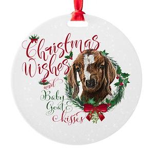 boer goat ornaments cafepress