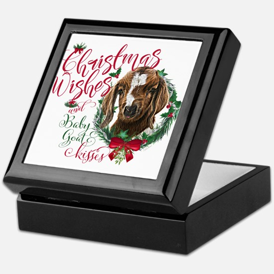 Christmas Goat | Christmas Wishes and Keepsake Box