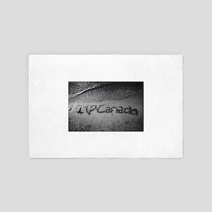 I heart Canada 4' x 6' Rug