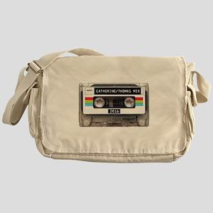 Mixtape CUSTOM label and year Messenger Bag