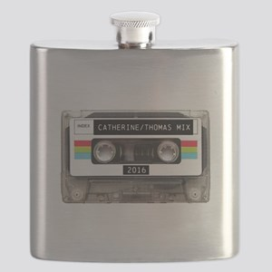 Mixtape CUSTOM label and year Flask