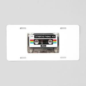 Mixtape CUSTOM label and year Aluminum License Pla