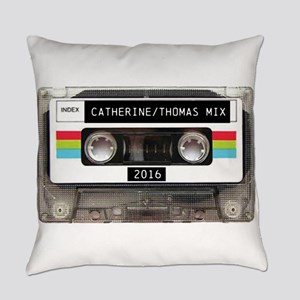 Mixtape CUSTOM label and year Everyday Pillow